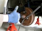 Using the Torque-Meister on '74 VW bug - left rear axle nut