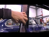 Classic VW Bugs How to Pad Insulate Door Post for Beetle Headliner