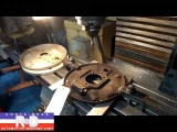 VW Brake Backing Plate Modification - Late to Early Installation