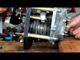 002 VW transaxle rebuild part 6 - Gear Spin Video