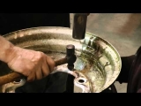 Classic VW Bugs How to Repair Beetle 5 Lug Smooth Rim Clips