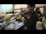 Classic VW Beetle Bugs How to Chrome Metal Polish with Wenol